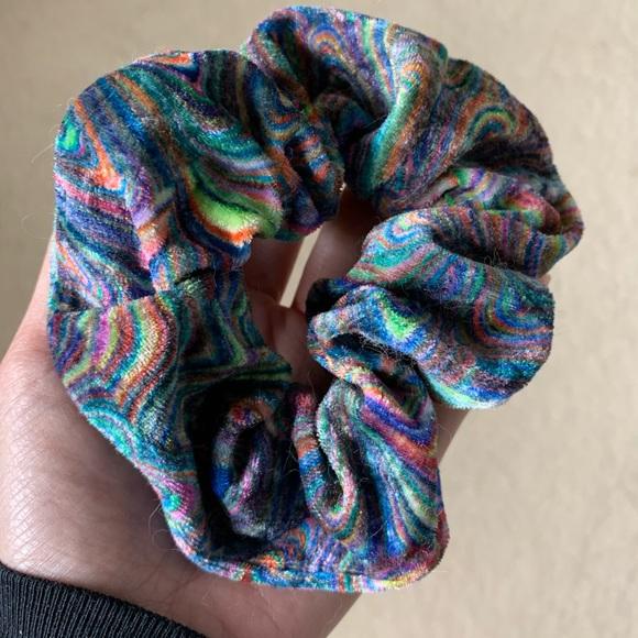 Multicolor scrunchi